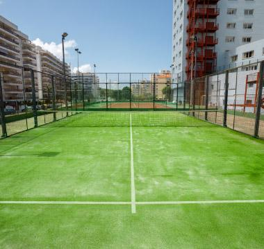 Our tennis courts and paddle tennis courts 1